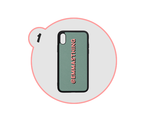 CUSTOM PHONE CASE - These phone cases from The Daily Edited are all the rage. I've been coveting one for months and with their Black Friday/Cyber Monday deals, I may pull the trigger (or urge my family to). Love love love.