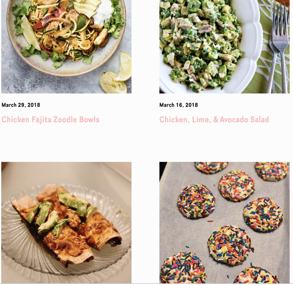 - I'm not a food blogger, but I love sharing solid recipes when I stumble across them and I guess y'all really like when I do, too! I'm always adding to my recipe arsenal, and plan to even more so this year.