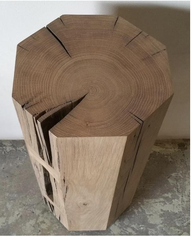 OZ|SHOP Antique Oak Octagonal Drink Tables (various)