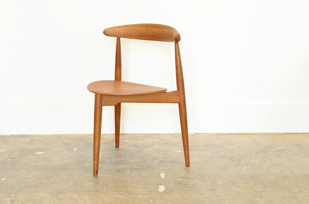 Vintage Hans Wegner Heart Chair