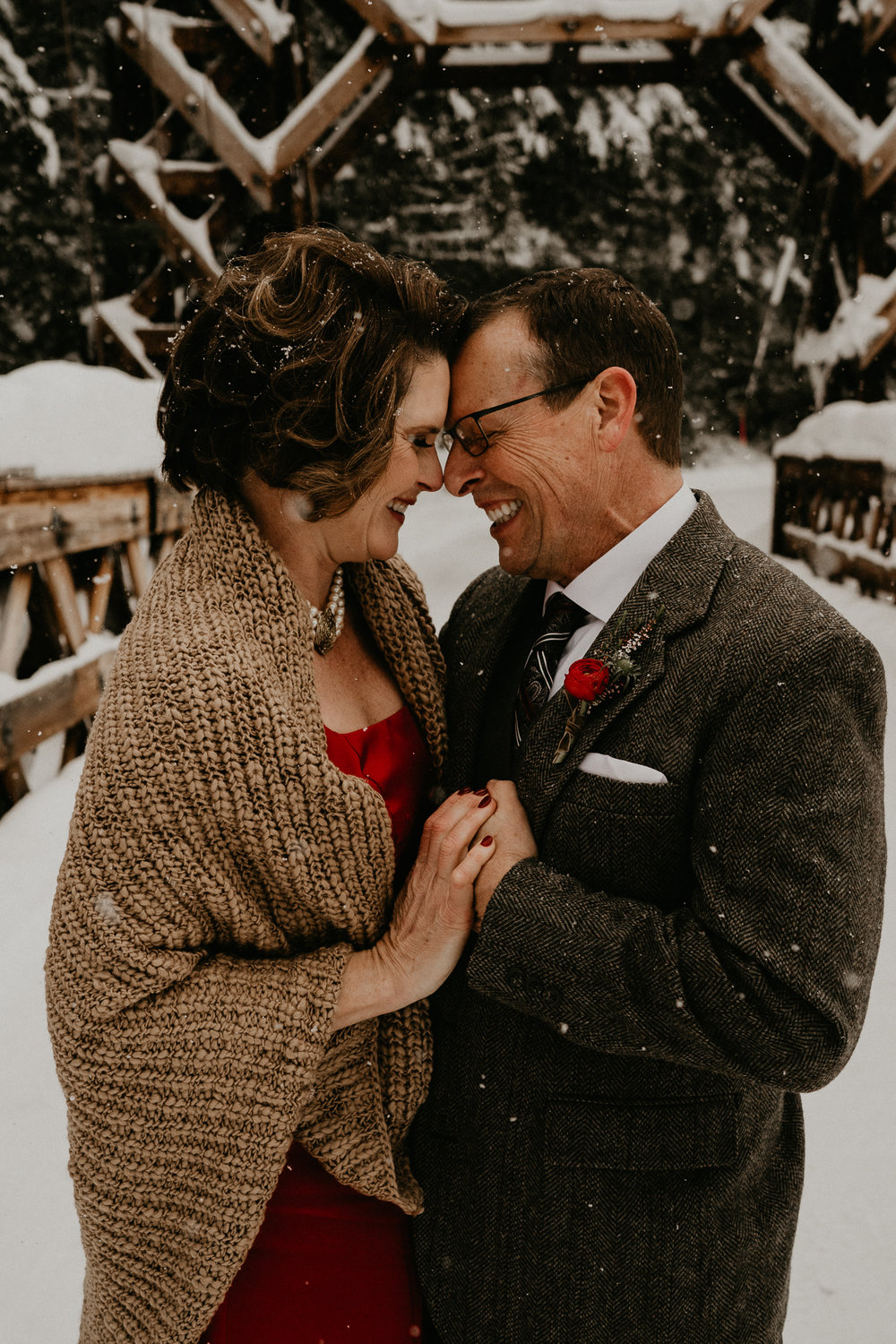 The greatest adventure weddings rusted vase floral co anne timms make up artist henry tieu photography winter elopement
