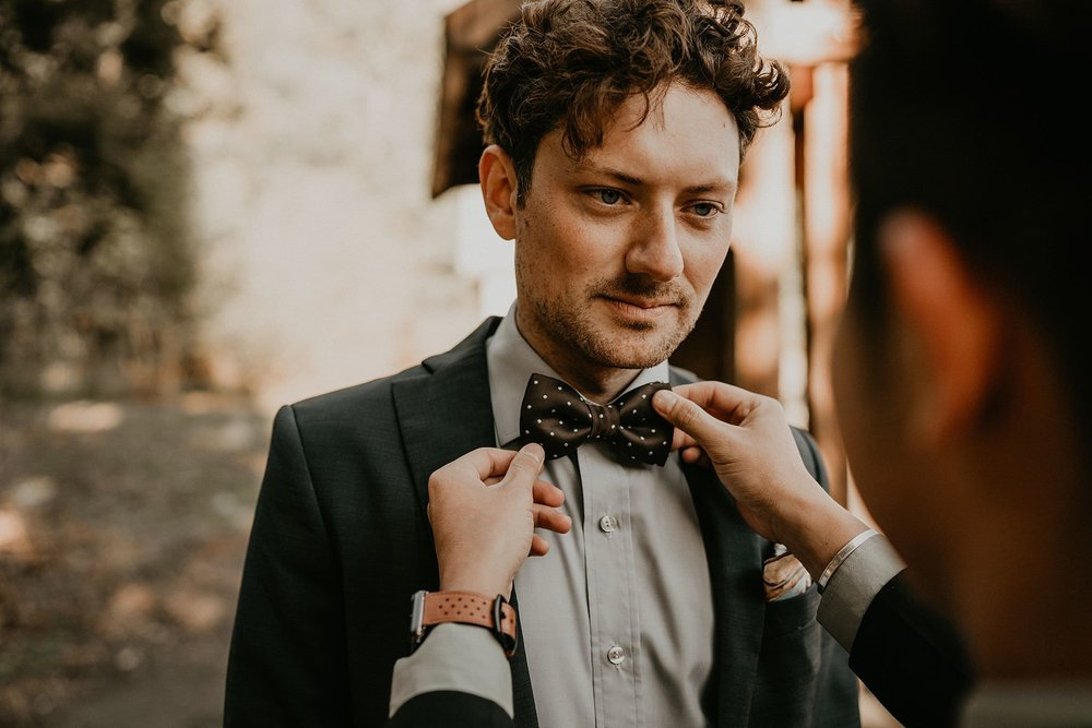 LGBT gay elopement in the mountain of Washington Pacific Northwest