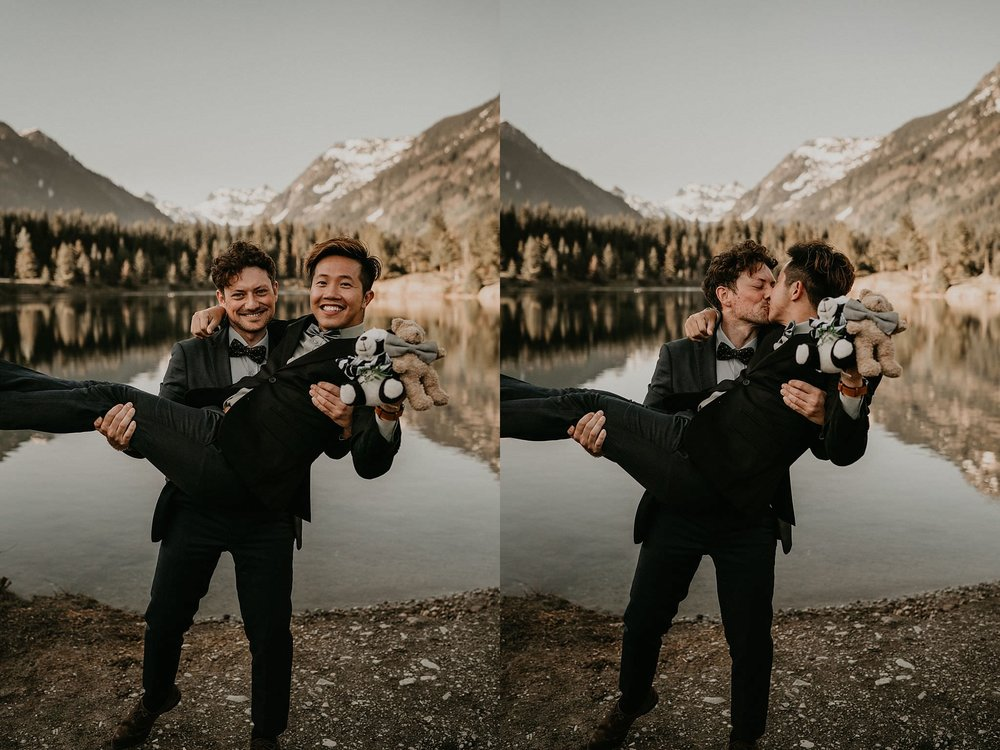 Portland best gay wedding photographer