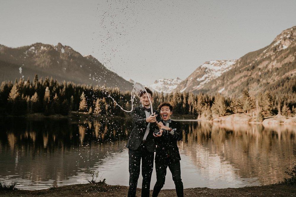Seattle same sex wedding photographer