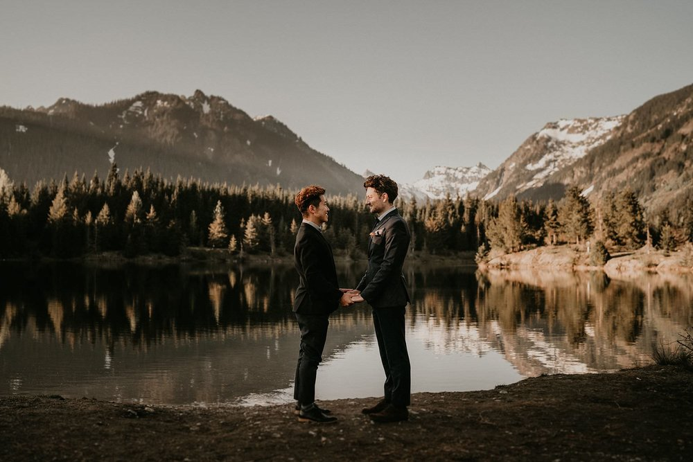 LGBT wedding venue Seattle Washington