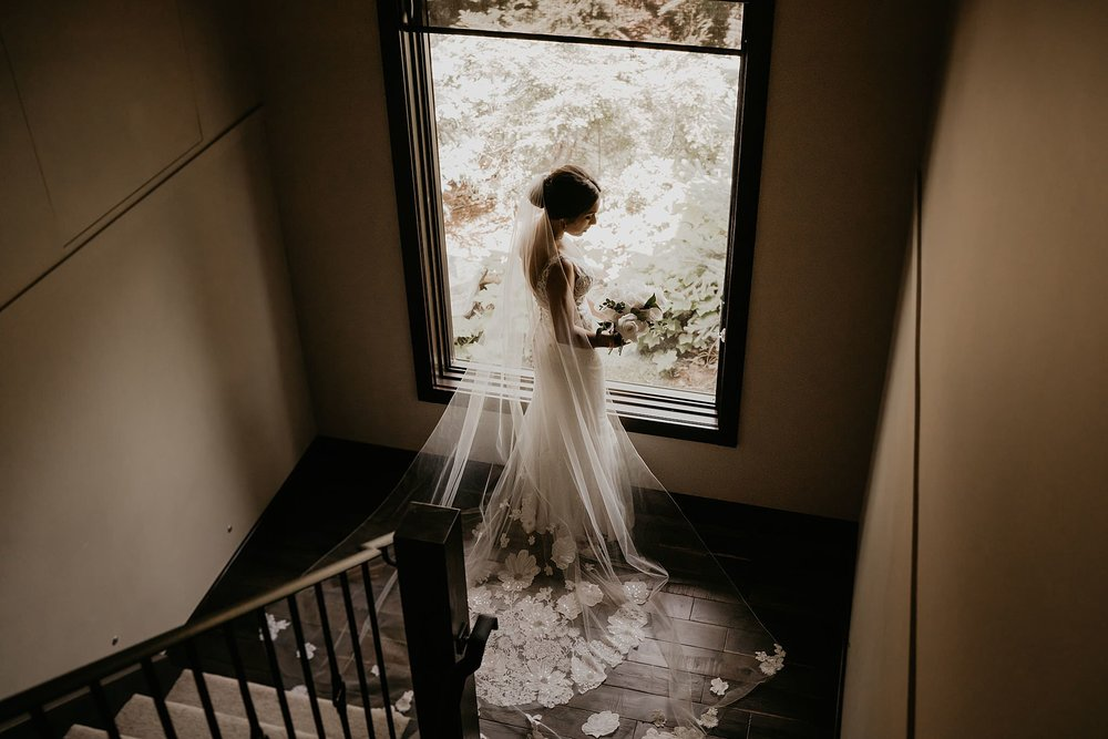 Jinza Bridal Minda Wedding Dress epic adventure helicopter whistler Alaska elopement