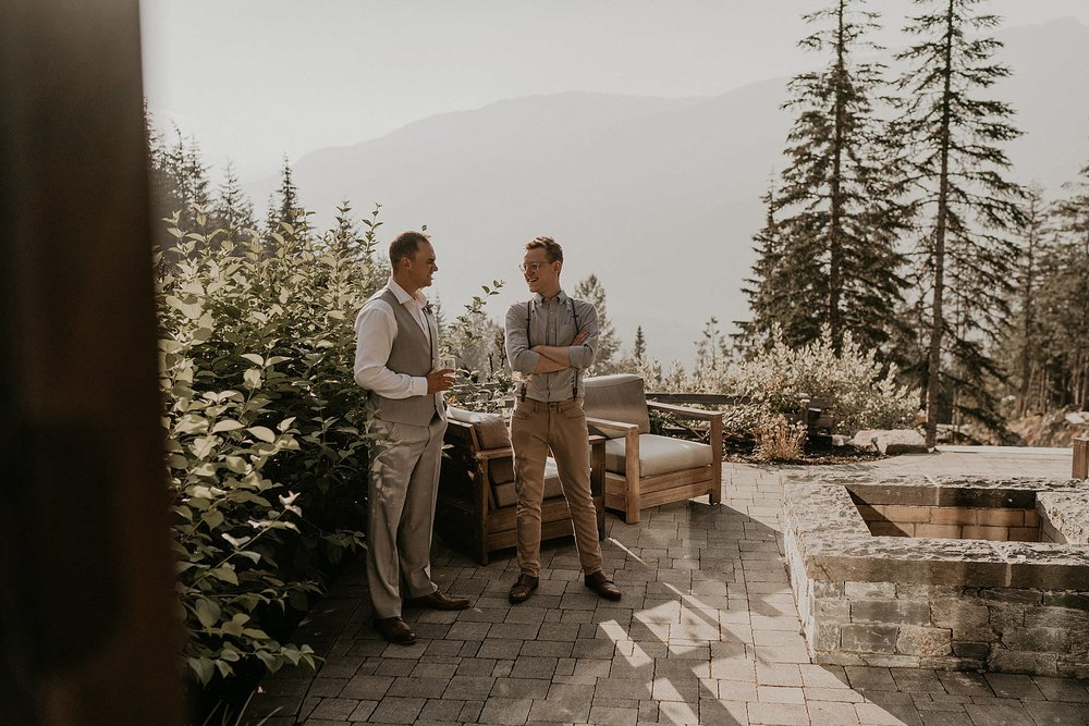 Whistler Platinum Kadenwood home rental for wedding and elopement