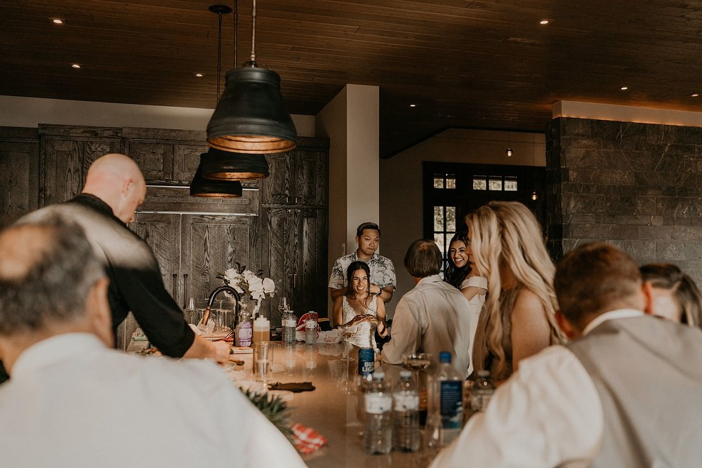 Whistler platinum home rental intimate wedding