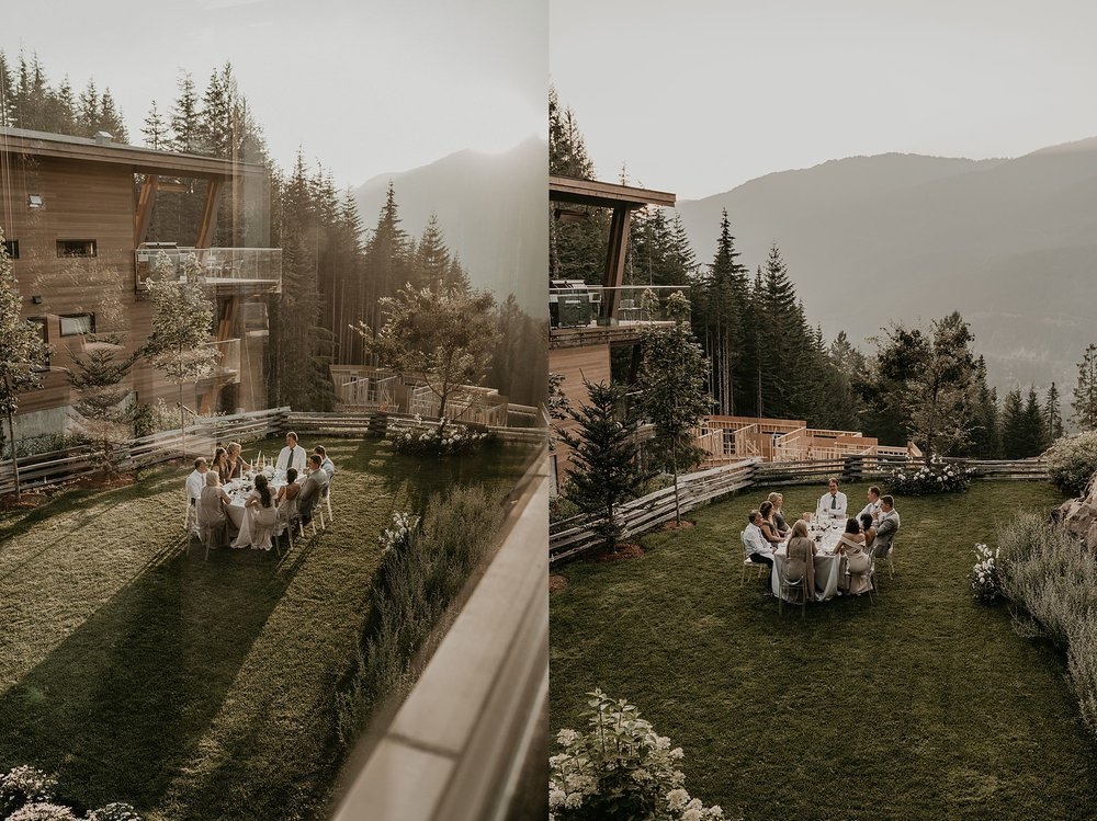 Kadenwood drive whistler platinum intimate wedding