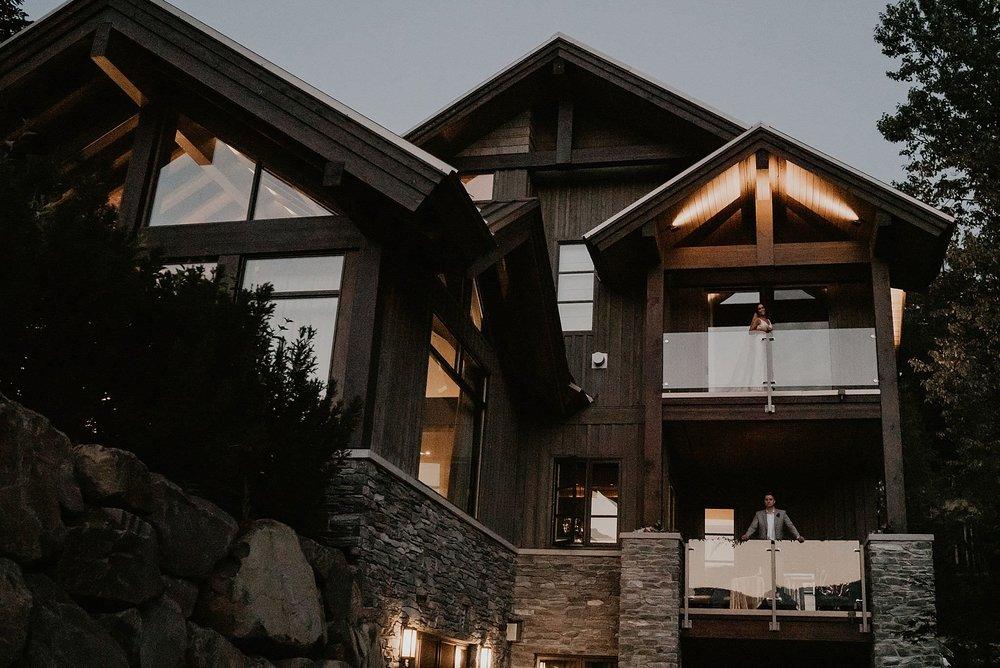 Kadenwood drive whistler platinum home rental wedding epic elopement