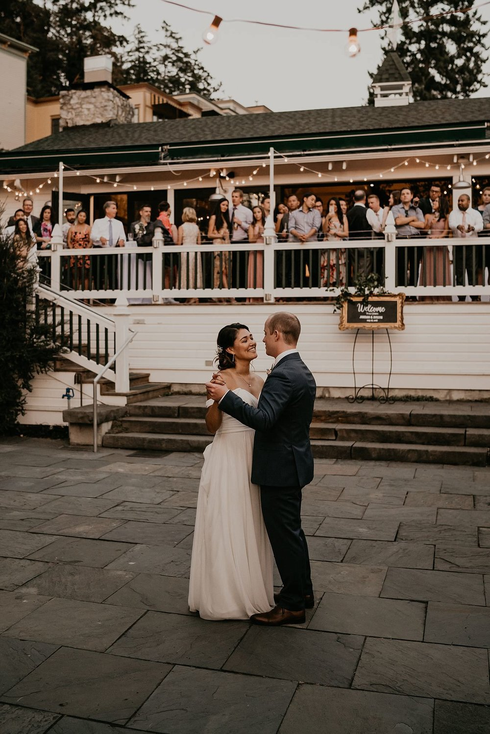 First Dance at Roche Harbor Wedding on San Juan Islands of Washington