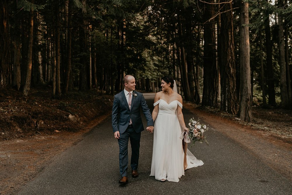 Pacific northwest wedding twilight Roche Harbor wedding photographer