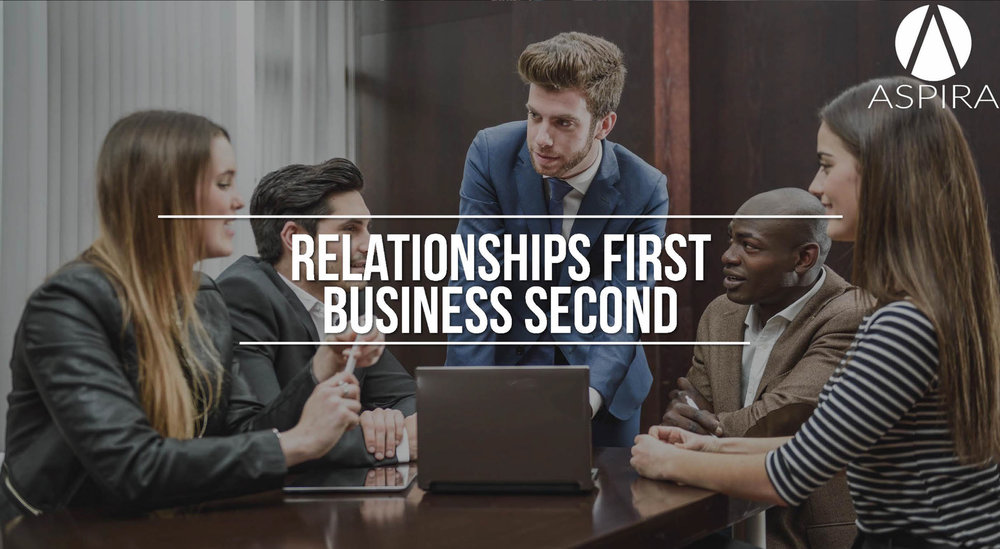 Relationship First, Business Second (click image)
