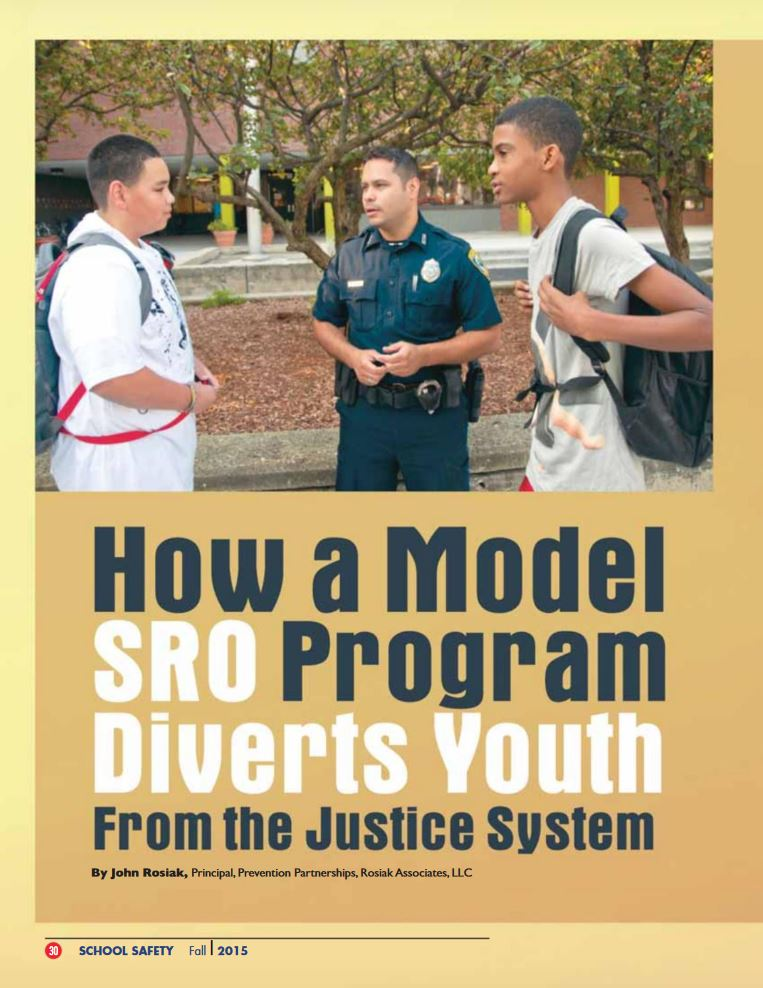 Article describes the specific ways that the Cambridge, MA community's Youth Resource Officer program employs the four key strategies needed to divert youth from the justice system.