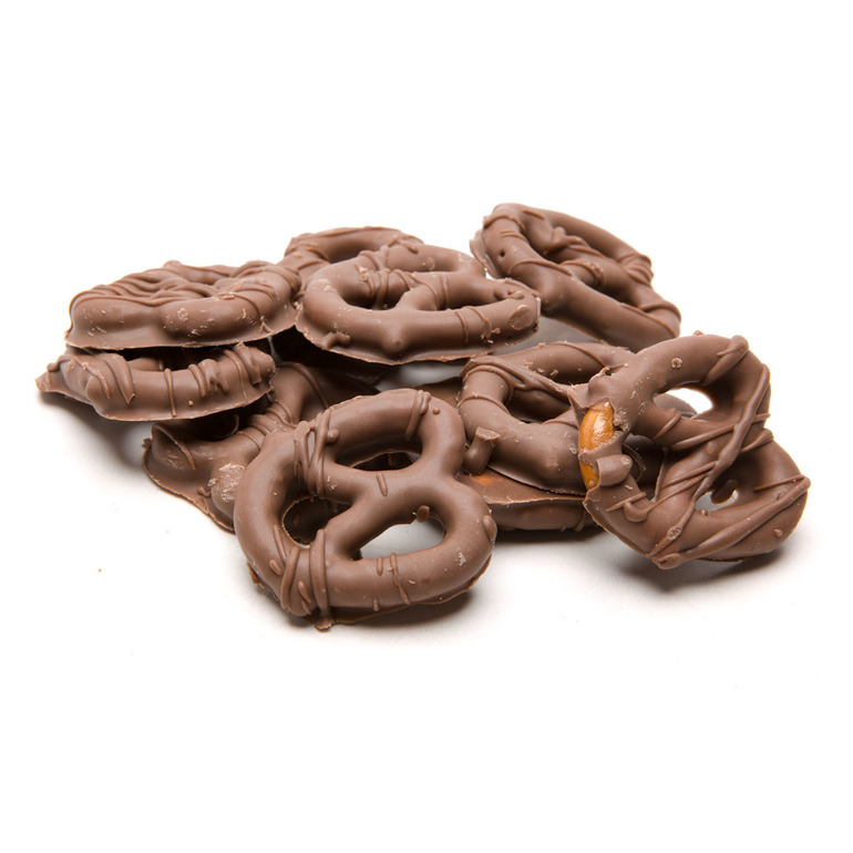 Milk Chocolate Pretzels (350MG)    Price: $12