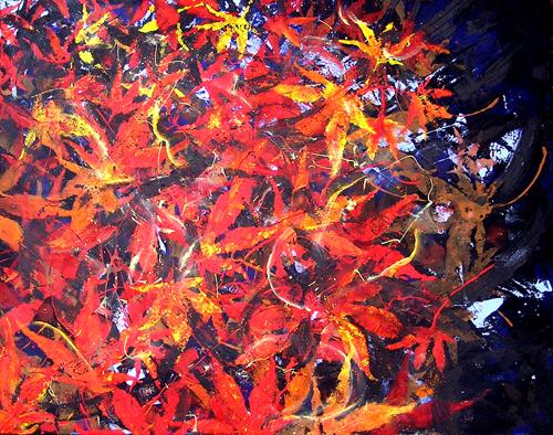 """Autumn Storm <br> 24""""x30"""" Acrylic on Canvas"""