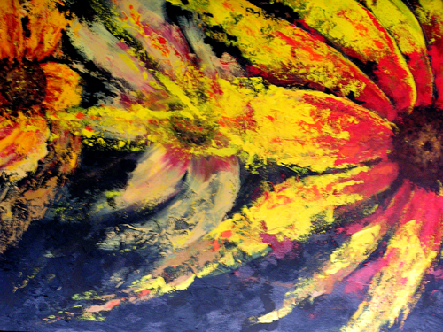 """Luminous <br> 30""""x26"""" Acrylic on Canvas <br> SOLD"""