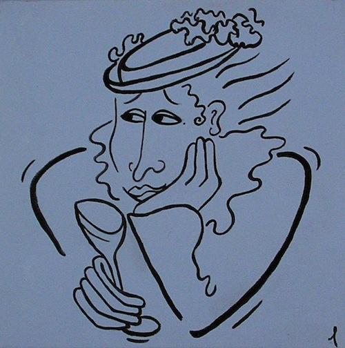"Faces of Eve <br>12"" x 12"" Acrylic on Canvas"