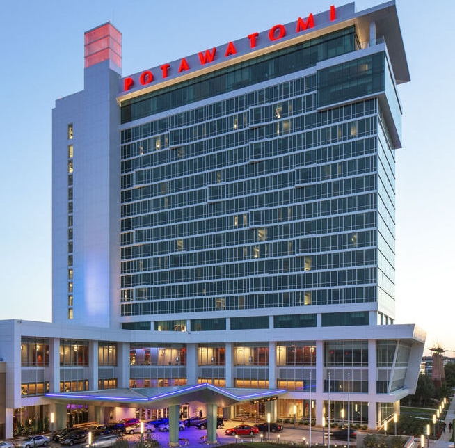 Potawatomi Casino - Located minutes from downtown Milwaukee, Potawatomi Hotel & Casino offers high-stakes bingo, over 100 table games, over 3,000 slot machines, a 20-table Poker Room, and an Off-Track Betting Room.