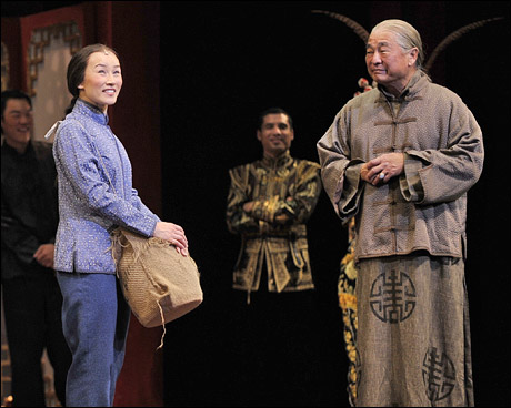 Michelle Liu Coughlin as Mei Li in Flower Drum Song, Musical Theater of San José.