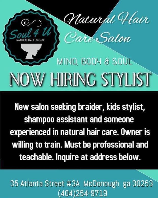 Anybody know somebody that know somebody????? Help a sista out! My cup runneth over and I need another person to take some of this overflow!  #stylistwanted #nowhiring #boothforrent #naturalhair #naturalhairstylist #naturalhaircommunity #braids #hairstyles #haircolor #protectivestlyles #locs #loclivin #mua #crochetbraids #instantlocs #womenwithlocs #menwithlocs #naturalhairstyles #naturalbeauties #naturalista #naturalhairdaily #naturalhairsalon #naturalsalon