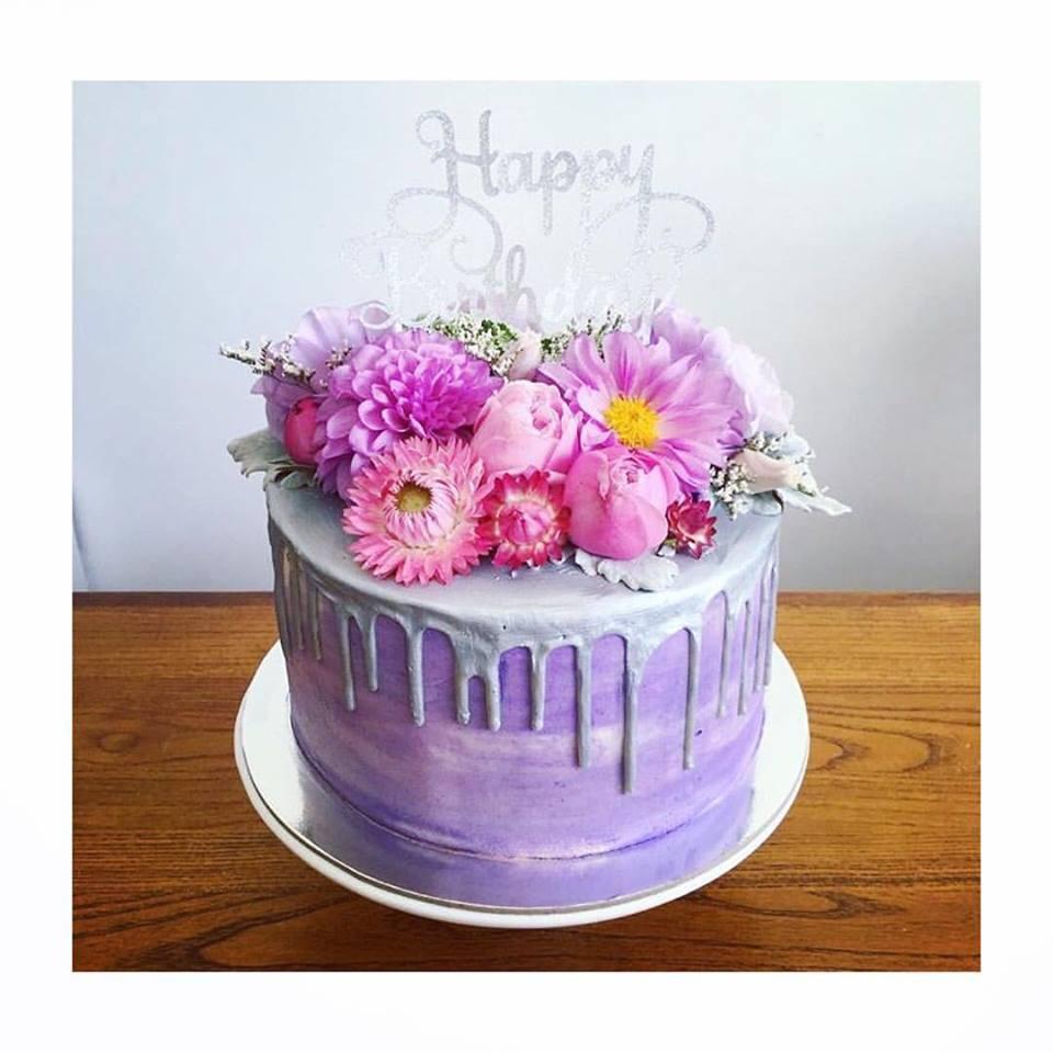 Cake Flowers Lauren Alyce Floral Design