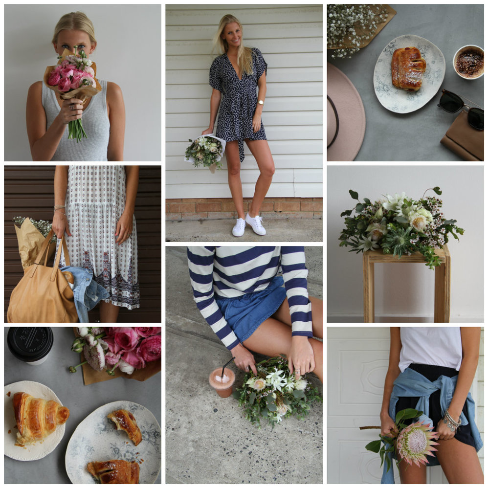 Plain Janes Spring Fashion Shoot - LAFD florals featured on Long Jetty boutique Plain Janes Spring collection photoshoot.Shop online now!