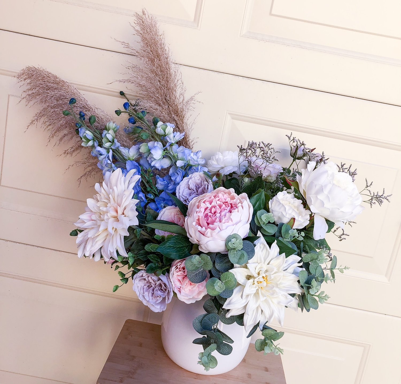 Silk Floral Arrangements Lauren Alyce Floral Design