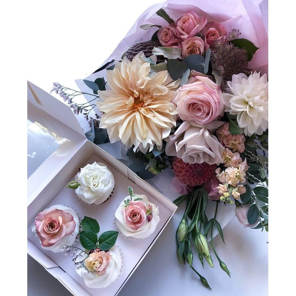 Cupcake Gift Package — Lauren Alyce Floral Design