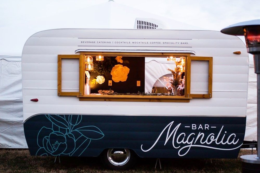 Our Flagship Mobile Bar - The Vintage Camper Bar