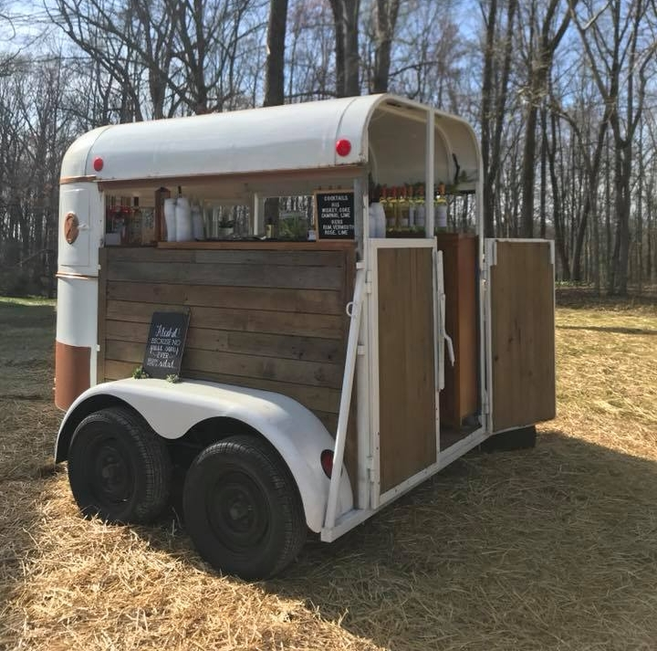Nashville's first Horse Trailer Bar! Perfect for weddings, tailgating, and... any event really!