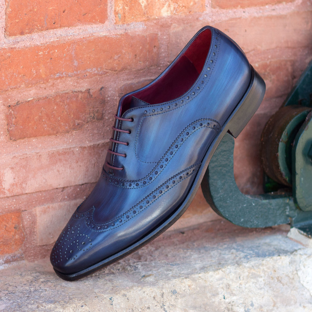 Full Brogue Hand Made Patina