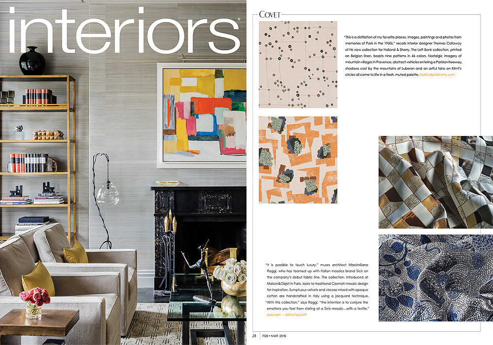 INTERIORS  Covet  March 2016