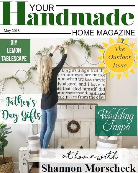 So excited about this months' issue!! Checkout our interview with the lovely Shannon Morscheck of @ladyslittleloves. Loads of farmhouse design and decor, beautiful outdoor spaces, wedding Inspo and artisan handmade goods. Shop the mag for the best in handmade! . . . #onlinemag #homemagazine #homeinspiration #farmhouseinspo #succulentlove #weddinginspo #handmadewedding #diyfarmhousedecor #diywin #fathersdaygifts #artisanhandmade #farmhousedecorating #cozyhome #cozyfarmhouse