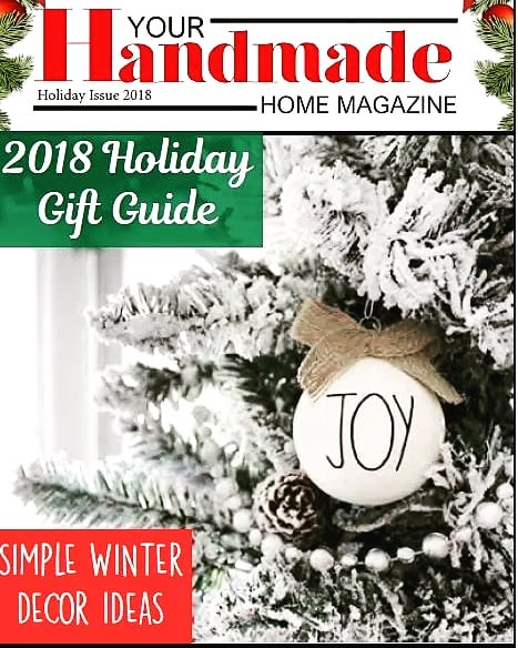 It's the most wonderful time of the year!! We are super excited about our Holiday Gift Guide issue! Packed with amazing gifts for your family and friends, gorgeous Christmas decor, DIYs and more! Our gift to you? It's free! . . . . . #holidaygiftguide #artisanhandmade #etsysuccess #christmasinspo #christmasdiy #farmhousechristmas  #modernfarmhousestyle #christmasdecorations #joytotheworld #allthegifts #giftsforboyfriend #giftsforyou #giftsforkids #giftsforpets #farmhousedecorating