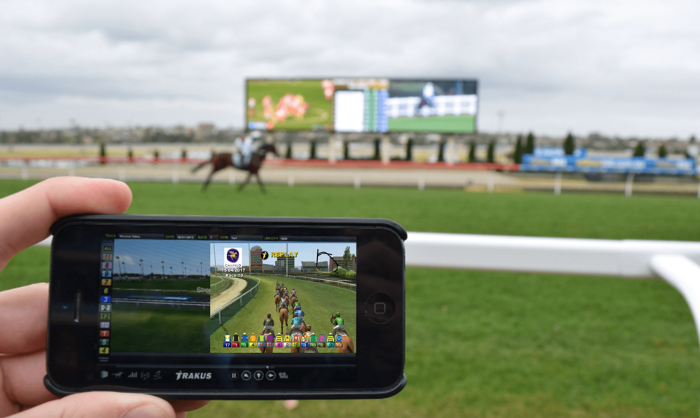 RewardBet® In-Play Racing Concept - combines the World's Fastest Interface, RewardBet® N+1™ with live tracking technology (optional) to provide a truly new and innovative and engaging live-wagering experience.