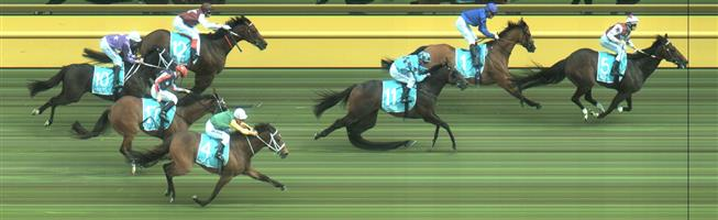 🏆🏆🏆🏆🏆 Caulfield Race 7 No.5 Land Of Plenty @ $6 (1 UNIT WIN)   Result :  1st  at SP $4.20, Best Tote of $3.80, Betfair at $4.20. Looked promising on the turn and won well - by over a length on the line. Outcome +6.00 Unit.
