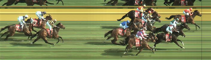 Caulfield Race 7 No.12 Addictive Nature @ $3.40 (2.09 UNITS WIN)   Result: 2nd  at SP $2.80. Was involved in a bit of a bumping jewel at the top of the straight and finished half a length from the winner. Outcome -2.09 Units.