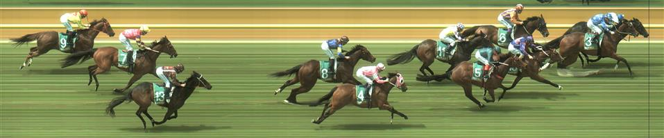 Geelong Race 2 No.15 Ocean Essence @ $8.50 *** Maybe, watch price ***   Result :  3rd  at SP $7.00. Late support. Straightened well and ran on to just claim third. Outcome -0.83 Units.