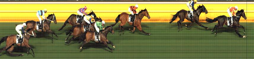 🏆🏆🏆🏆🏆🏆🏆 Moonee Valley Race 8 No.5 Tamasa @ $3 (2.5 UNITS WIN)   Result : 1st at SP $3.00, Best Tote $2.90, Betfair $3.60. Got cover, three wide. Looked good on the turn, joined the leaders at about the 300m mark and raced away for a nice victory. Outcome +7.50 Units