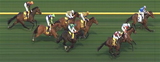 Moonee Valley Race 4 No.7 Truly High @ $3 (2.5 UNITS WIN)   Result: 3rd  at SP $2.90. Coming from the back, hooked out from just before the turn and was solid from the back. Leader just too strong. Outcome -2.50 Units.  Moonee Valley Race 4 No.9 San Remo @ $7 (0.77 UNIT WIN) (watch price)   Result : Unplaced at SP $5.00. Settled towards the front, though got headed at turn and couldn't finish off. Outcome -0.77 Units.