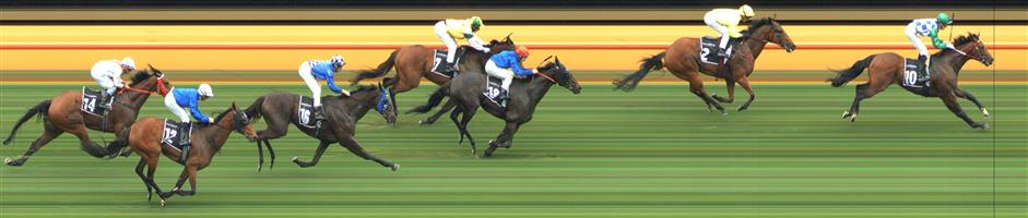 🏆🏆🏆🏆🏆🏆🏆🏆 Flemington Race 3 No.10 Fifty Stars @ $3 (2.5 UNITS WIN)   Result: 1st  at SP $3.20, Best Tote $3.20, Betfair $3.03. Was three wide the trip with cover and still able to finish off strong on a deaerating track. Good win. Outcome +7.50 Units.