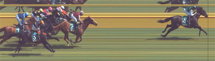 Donald Race 5 No.7 Nations @ $4.60 (1.39 UNITS WIN)   Result : Unplaced at SP $6.00. Joined in a row of four horses from the turn but quickly dropped off to finish towards the tail. Outcome -1.39 Units.