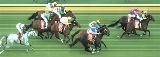 Sandown Race 8 No.3 Bringit @ $4.20 (1.57 UNITS WIN)   Result :  3rd  at SP $4.80. From the midfield, was one of widest on the turn and ran on well to reduce the back but was a little too far back to make an impression on the winners. Outcome -1.57 Units.