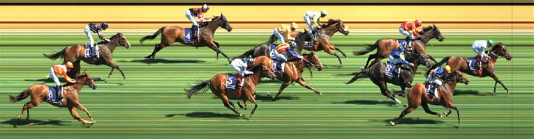 Flemington Race 6 No.7 Whispering Brook @ $3.60 (1.5 UNITS WIN)   Result: 1st  at SP $3.30, Best Tote $3.40, Betfair $3.51. Rated $2.82. Settled with cover midfield. Good trail into the race and hit the lead with about 200m to go and fought on to win nicely by just under a length. Outcome +5.40 Units