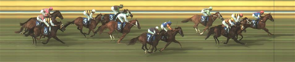 🏆🏆🏆🏆🏆🏆 BENDIGO Race 6 No. 10 Mosh Music @ $3.90 (1.5 UNITS WIN)   Result: 1st  at SP $3.70, Best Tote $3.80, Betfair $4.06. Coming from just behind the leader, upon straightening was under pressure but responded well and kept finding to hit the line well to score an impressive victory. Outcome +5.85 Units.