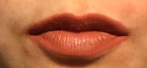 Dirty Peach - Next is Dirty Peach. I love the name of this lip colour for a start. I also love the orange under tone this lip kit has.
