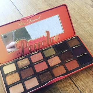 Too Faced Sweet Peach Pallette - This is my final favourite product of the month. I have not put these products in any order. This eyeshadow palette however is incredible, it is my two faced sweet peach palette. I have created so many looks from this palette and can get some really gorgeous glamorous summer looks from it. You won't believe me, but this palette actually smells like peaches, it gets my tummy rumbling, i love the smell of it, so scrummy. If you are looking for a gorgeous eye shadow palette this summer then i would say this one is a must! I use it everyday, whether i am going for a natural look or a more heavy smokey eyes eyeshadow look its perfect to create all looks from it.
