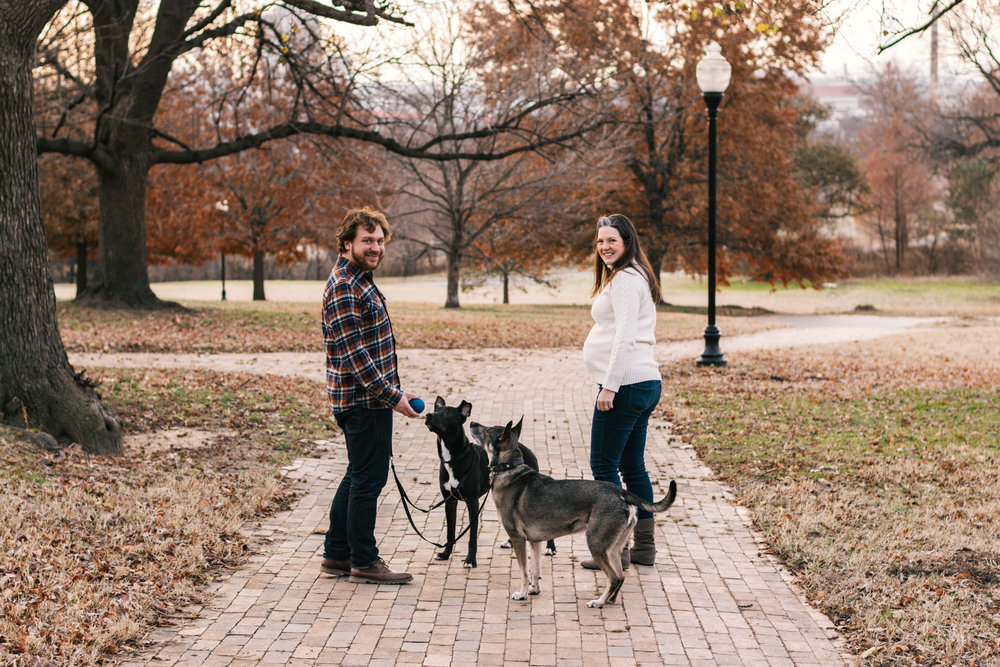 Patterson Park Maternity Photo Session - 3