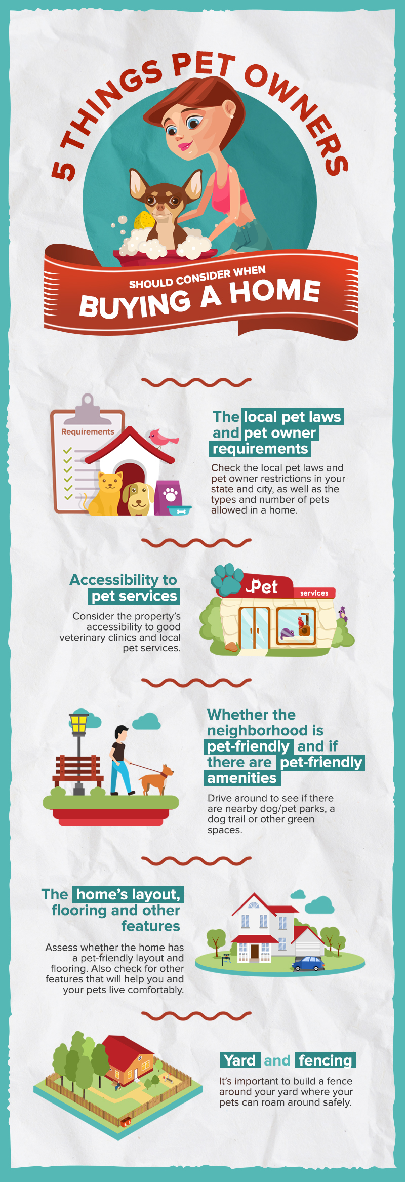 The Pet Owner's Guide To Buying A Home: 5 Things to Consider for Your Furry Friends